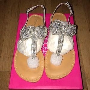 ShoeDazzle Flat Sandals